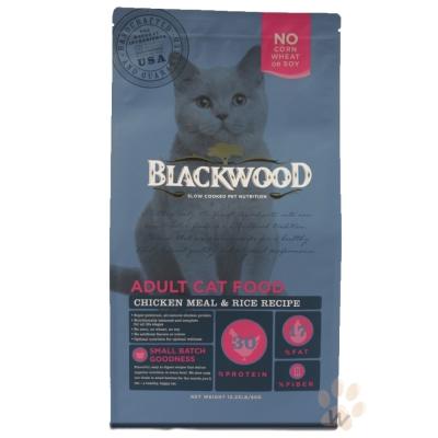 柏萊富blackwood 特調成貓亮毛配方(雞肉+糙米)13.23磅+贈行李吊牌