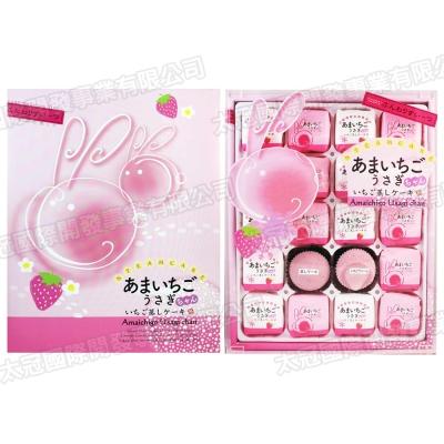 丸三 御兔草莓蛋糕禮盒(400g)