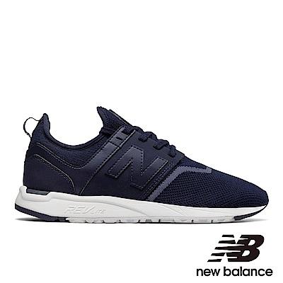 NEWBALANCE編織運動鞋-女WRL247EA藍色