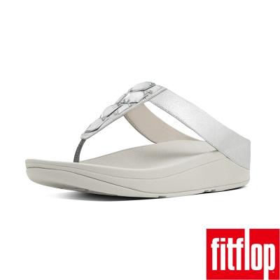 FitFlop TM-SPARKLIE TM TOE-THONG-銀色