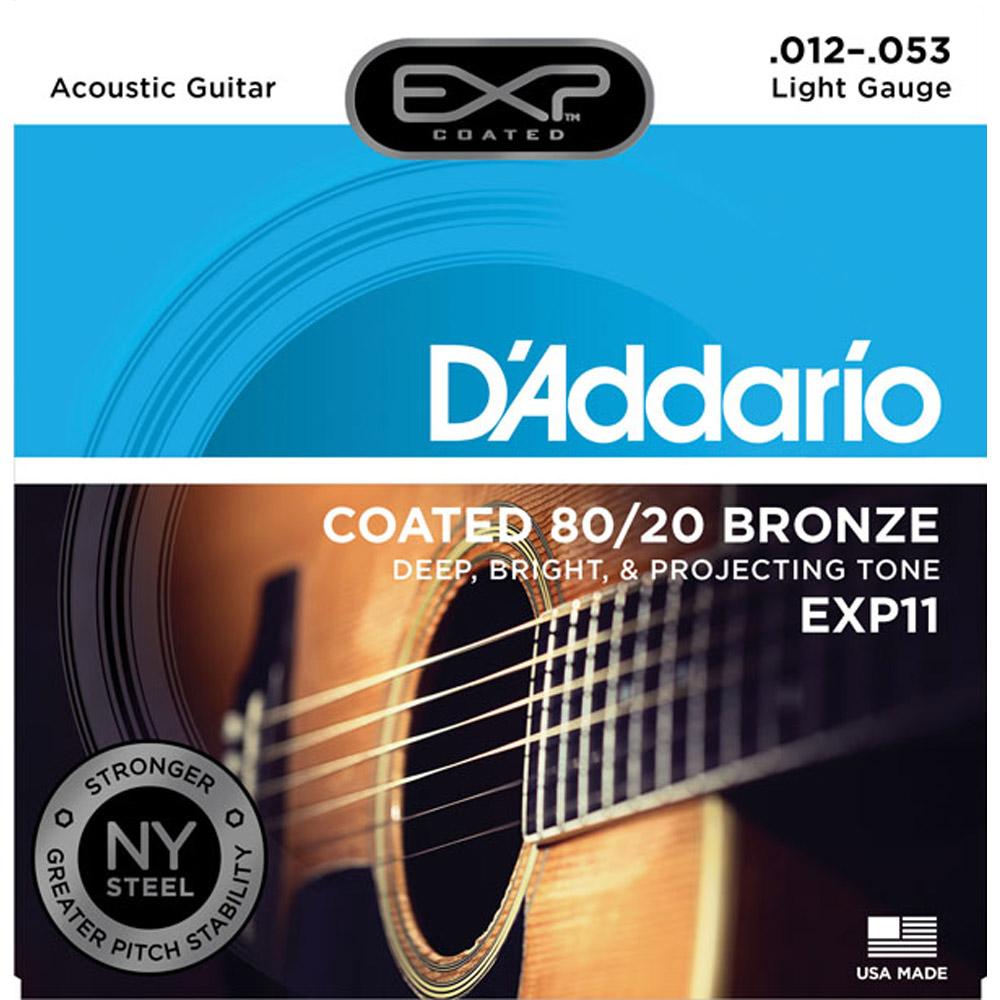 DAddario DDXF-EXP11 黃銅民謠木吉他套弦 @ Y!購物
