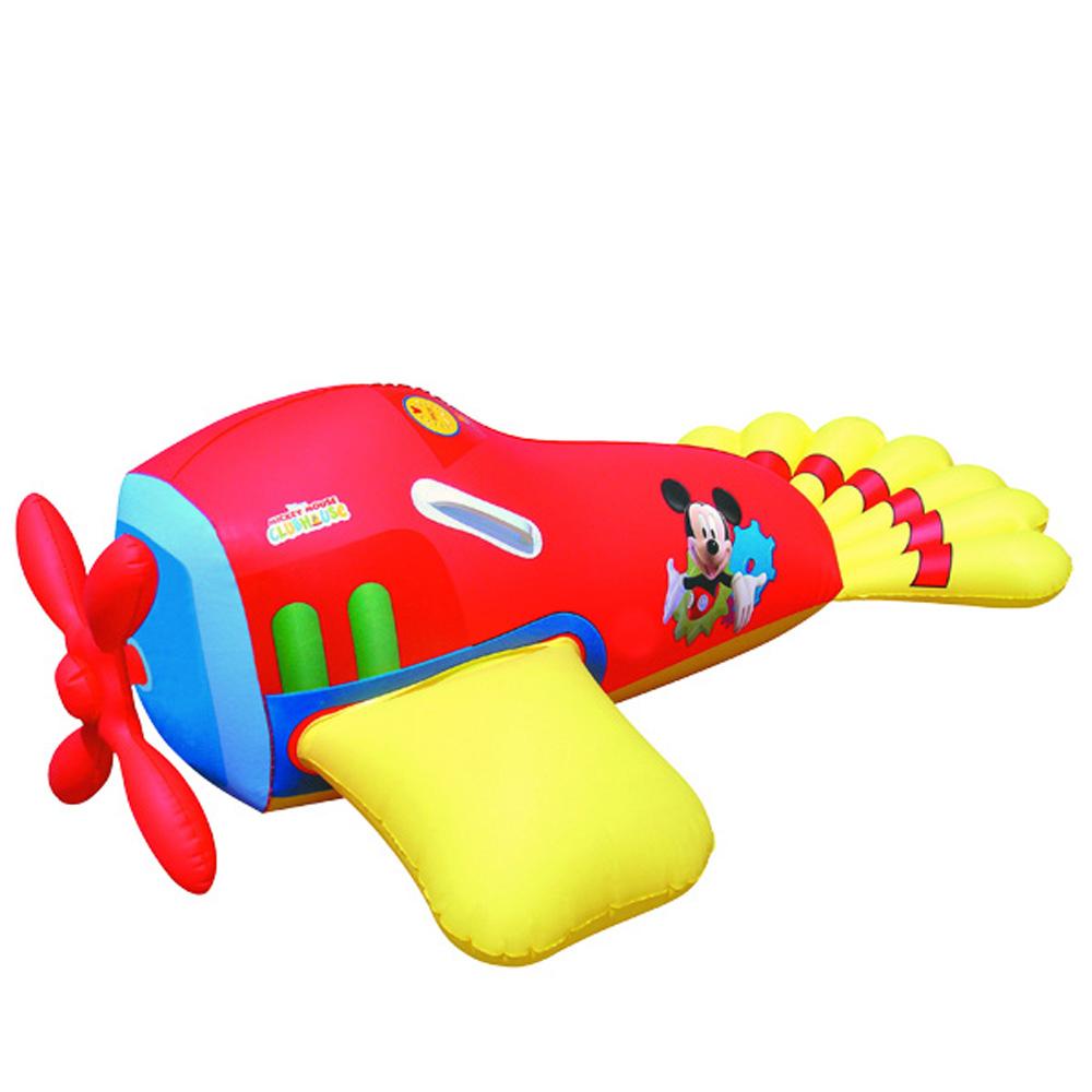 美國品牌【迪士尼DISNEY】米奇圖案充氣助浮飛機