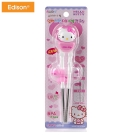 Hello Kitty 3D不鏽鋼學習筷子