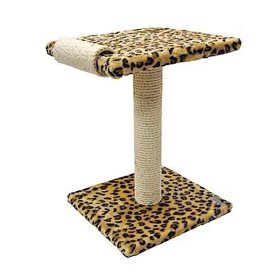 派斯威特-跳台世家貓跳台 雙層滾輪貓抓柱