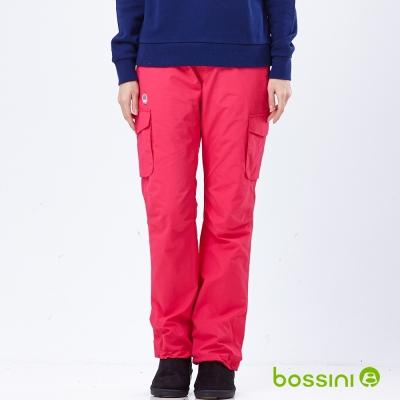 bossini女裝-高效熱能雪褲-3亮桃紅