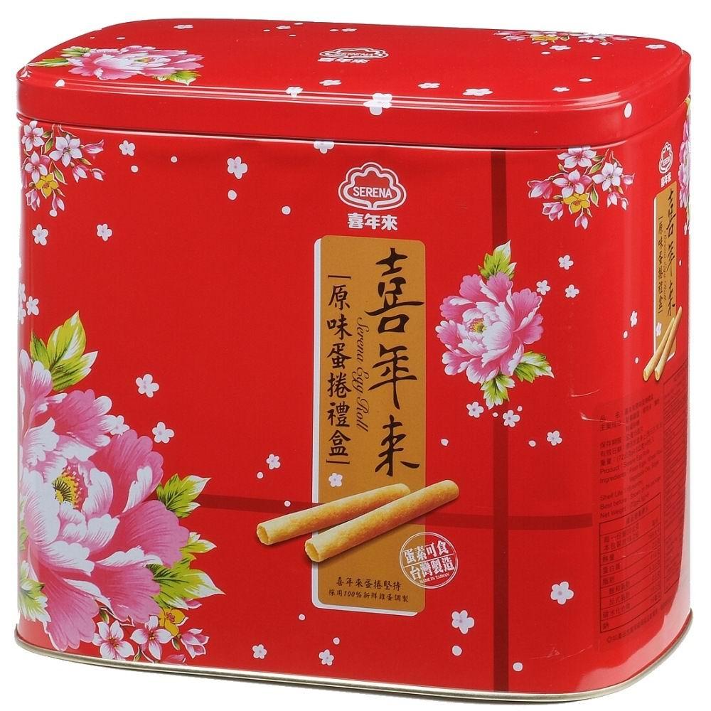 喜年來 原味蛋捲禮盒(64gx8包)