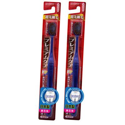 日本EBISU-48孔優質倍護混合植毛牙刷×2入