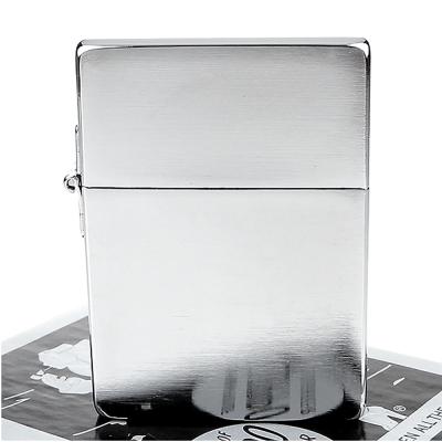【ZIPPO】美系~1935復刻版-拉絲打磨鍍鉻打火機