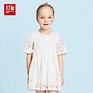 JJLKIDS  經典優雅蕾絲織紋洋裝(2色)