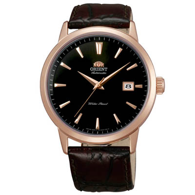 ORIENT 東方錶 經典簡約 機械錶(FER27002B)-黑/41mm