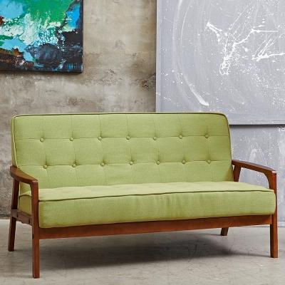 Bed Maker-綠巨人‧復古經典三人布藝沙發/復刻沙發