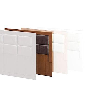 H&D 樟木色3.5尺床頭片 (寬106X深4X高91cm)