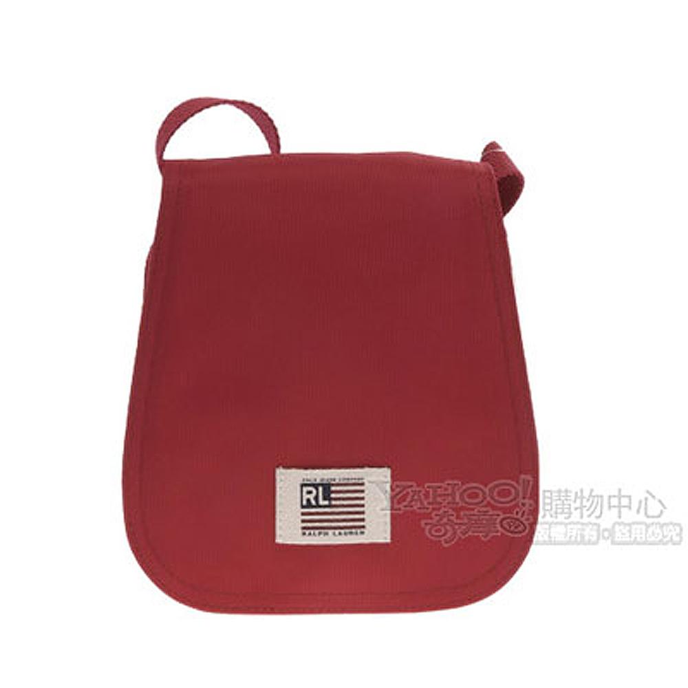 RL POLO 俏皮輕巧小側背包(紅色)