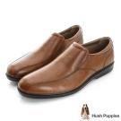 Hush Puppies Onchu 防潑水直套式正裝鞋-咖啡色