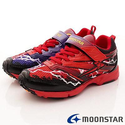 日本月星頂級童鞋 競速衝刺運動鞋 SE962紅(中大童段)