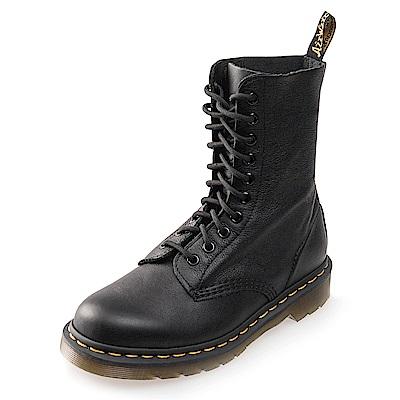 (女) Dr.Martens-經典1490 10孔馬汀靴*黑色