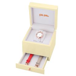 Folli Follie  百花齊放時尚套錶組-WF16R002BPW/37mm