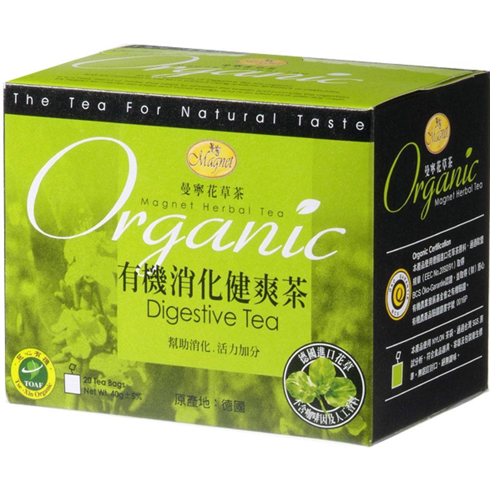 曼寧 有機消化健爽茶(2gx20入)