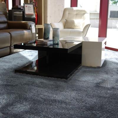 范登伯格 - 凱特 混織長毛地毯 (灰色 - 140x200cm)