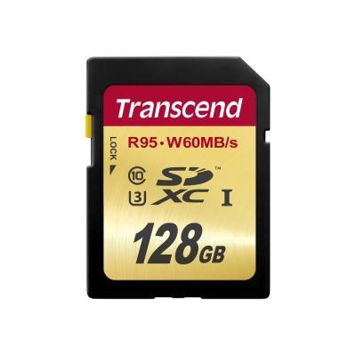 創見 128G UHS-I SDXC Class 10 (U3)記憶卡
