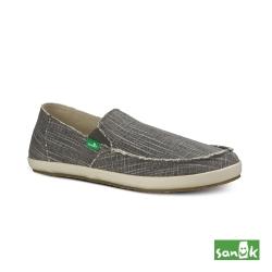 SANUK 復古帆布休閒鞋-男款(灰色)