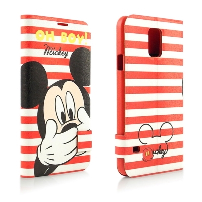 Disney Samsung Galaxy S5 OH BOY!摀嘴米奇彩繪可立...