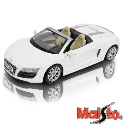 Audi R8 Spyder 1:24 合金模型車 (白)