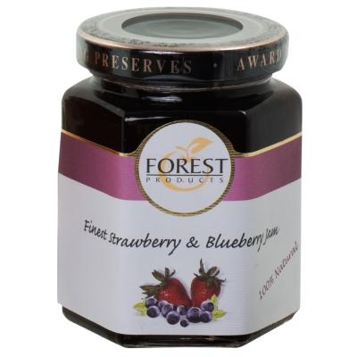 FOREST 森林果醬-草莓+藍莓(220g)