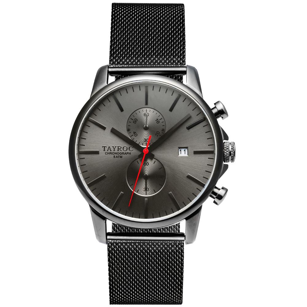 TAYROC 羅霸特二號計時腕錶(TXM054)-43mm