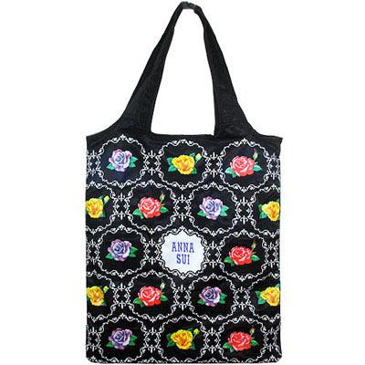 ANNA SUI 安娜蘇 華麗薔薇購物袋