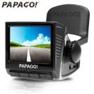[快]PAPAGO! P3 車道偏離+車距/測速提醒‧行車記錄器(黑色)
