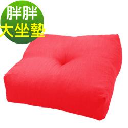 凱蕾絲帝-台灣製造 航空母鑑圓滿胖胖加厚大坐墊(70*70*22cm)-紅