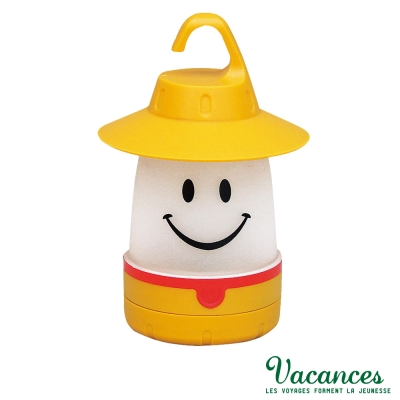 VACANCES-日系-世界-黃色-微笑-LED