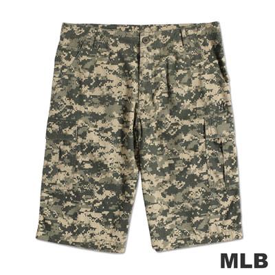 MLB-紐約洋基隊經典迷彩休閒短褲-深綠(男)