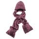 【ATUNAS 歐都納】保暖帽含圍巾 A-A1545 桃紫 product thumbnail 1