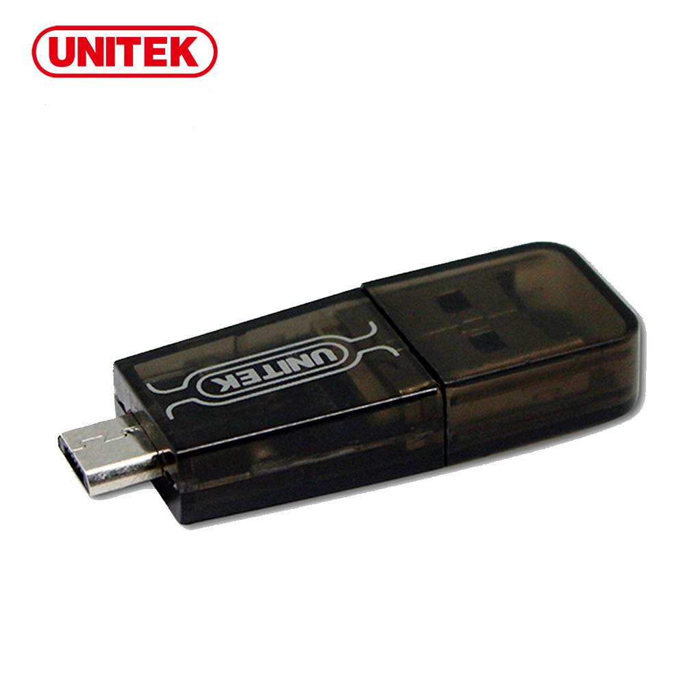 UNITEK 優越者Micro USB 2.0 OTG + Micro SD讀卡機