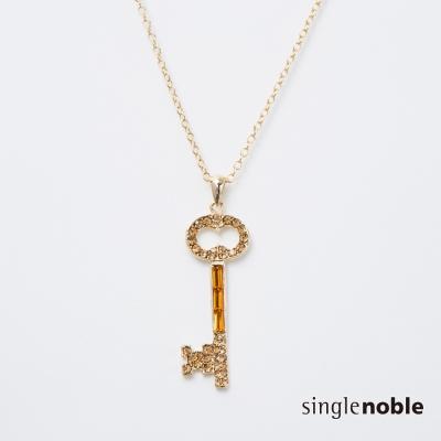 獨身貴族 復古閃亮國王之鑰長鍊(2色)