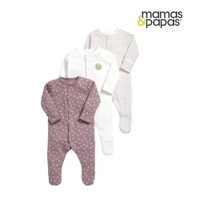 Mamas & Papas WTTW一起長大-連身衣3件組
