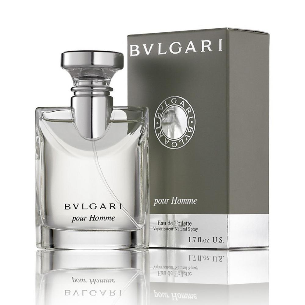 BVLGARI Pour Homme 寶格麗經典大吉嶺茶中性淡香水 100ml+香水補充瓶