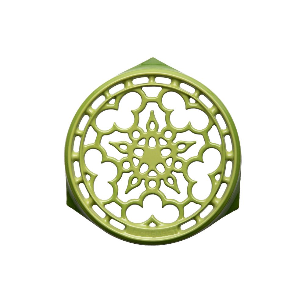 LE CREUSET 琺瑯鑄鐵鍋架 (棕櫚綠)