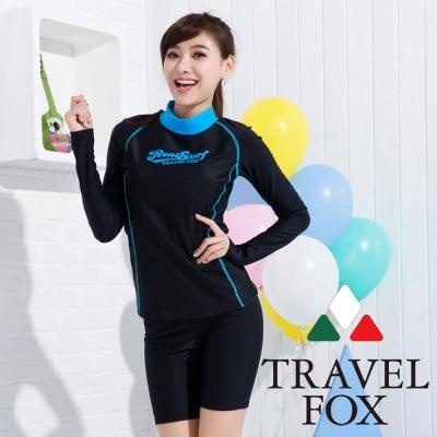 夏之戀TRAVEL FOX 衝浪裝兩件式泳衣