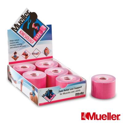 MUELLER慕樂 M肌內效貼布 5CM*5M 粉紅 /卷(MUA28277)