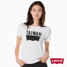 T恤 女裝 短袖純棉TEE 城市Logo 台灣 - Levis