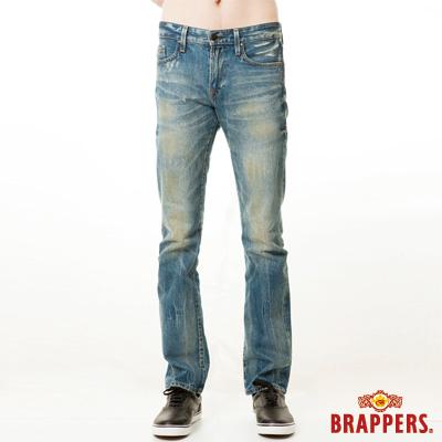 BRAPPERS 男款 新美腳Royal系列-中窄直筒褲-淺藍