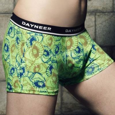 DAYNEER-時尚貼身系列-貝殼印花四角褲-微風