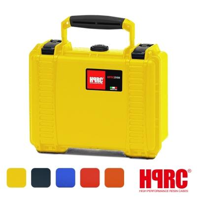義大利 HPRC 2100C 頂級防撞硬殼箱-內泡棉式(公司貨)-黃色