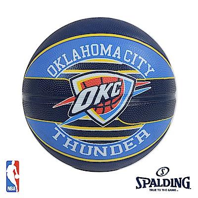 SPALDING 奧克拉荷馬 雷霆 Thunder 隊徽籃球 SPA83513