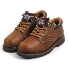 Kai Shin 安全工作鞋 褐色