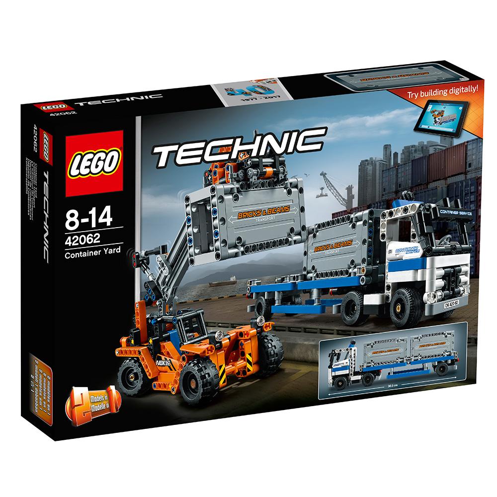 LEGO樂高科技系列42062貨櫃大卡車8Y