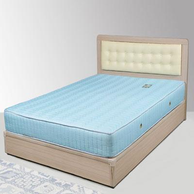 Homelike 艾凡3.5尺床組+獨立筒床墊-單人(二色任選)